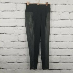 Old Navy  Leggings Size XL Black Faux Leather